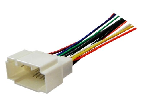 Absolute USA H806/1721 Radio Wiring Harness for Honda/Acura 98-Up Power 4 Speaker (70-1721, HWH-806)
