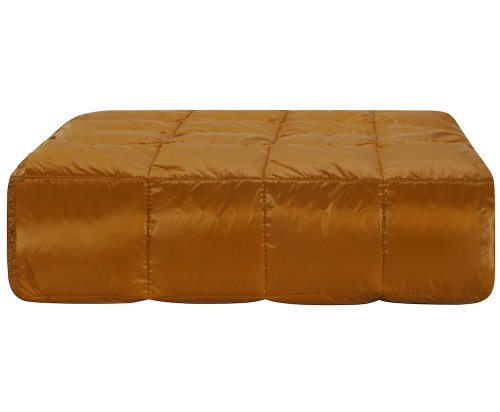 Gold Throw Blanket front-1065854