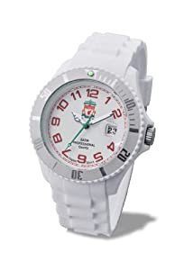 Premiership Liverpool FC Men's Silicon Strap Watch - 44mm Case GA2909-44 by Premiership Football Watch