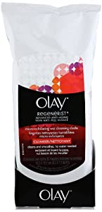 Olay Regenerist Micro-Exfoliating Wet Cleansing Cloths, 30 Count