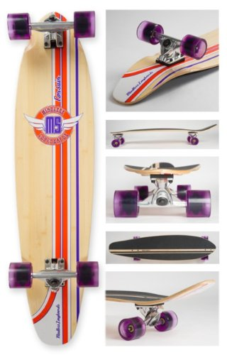 Mindless Corsair Longboard - Purple Ml2100