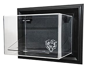 Chicago Bears Football Case-Up Display, Black by Caseworks
