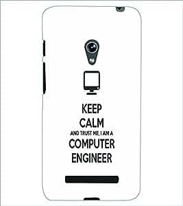 PRINTSWAG COMPUTER ENGINEER SLOGAN Designer Back Cover Case for ASUS ZENFONE 5 A501CG