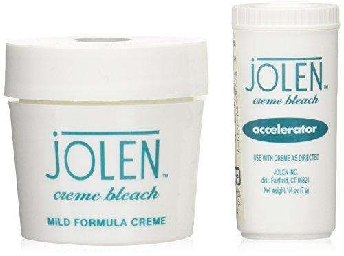JOLEN JAPAN 正規品 JOLEN cream bleach ジョレン クリーム ブリーチ アロエ入り マイルドタイプ 28g