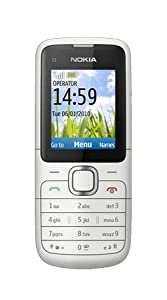 Nokia C1-01 T-Mobile Prepay/Pay As You Go Mobile Phone - Dark Grey