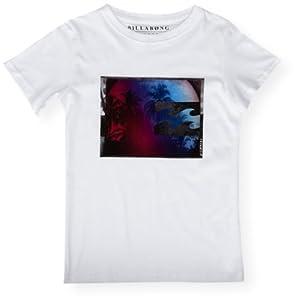 Billabong Fisheye T-Shirt manches courtes garçon Blanc FR : 8 ans (Taille Fabricant : 8)