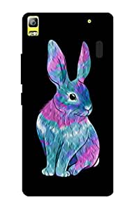 Lenovo A7000 Cover, Premium Quality Designer Printed 3D Lightweight Slim Matte Finish Hard Case Back Cover for Lenovo A7000 + Free Mobile Viewing Stand