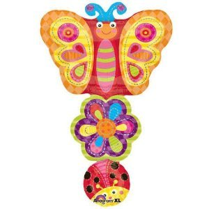 Ladybug, Flower, Butterfly Stack Super Shape