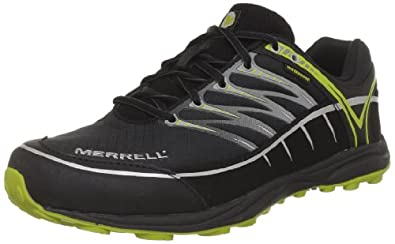 Merrell Mix Master Low Wtpf, Chaussures de running homme - Noir (Black), 45 EU