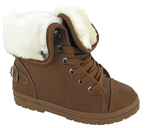 new-ladies-faux-fur-grip-sole-womens-winter-ankle-boots-trainers-shoes-size-3-8