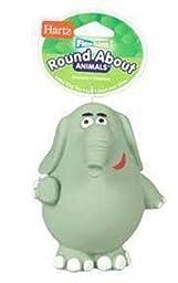 Hartz Roundabouts Dog Toy, Elephant, Small