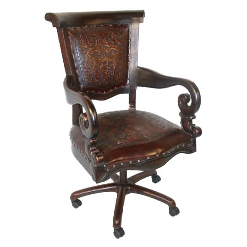 Amazon.com - New World Trading Sammy Office Chair, Colonial, Antique