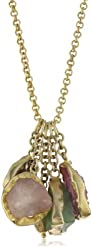 """Zariin """"An Ode To Style"""" Multiple-Stone Pendant Necklace"""