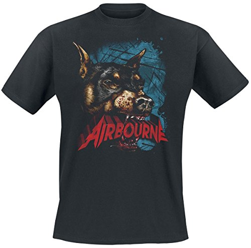 Airbourne -  T-shirt - Uomo nero XX-Large
