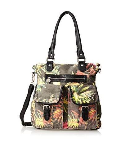 Puma Unisex Remix 2.0 Tote, Tropical/Black