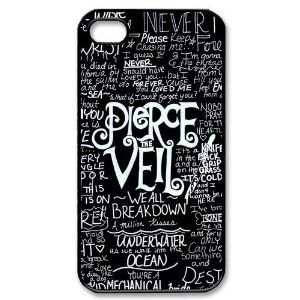 Sale alerts for BestClassmates BestClassmates (TM) Fashion Pierce The Veil Personalized iPhone 4 4S Hard Case Cover - Covvet