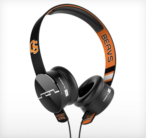 Sol Republic 1211-Osu Collegiate Series Tracks On-Ear Headphones With Three Button Remote And Microphone - Oregon State University