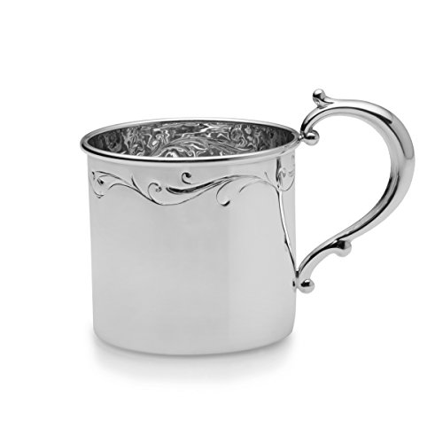 Empire Floral Sterling Heavy Baby Cup