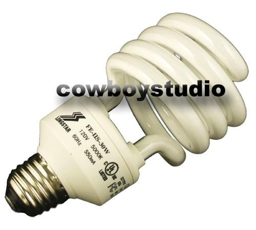 CowboyStudio 30 Watt Daylight Balanced Compact Fluorescent Light Bulb