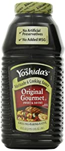 Mr. Yoshida's Original Gourmet Sweet and Savory Marinade and Cooking Sauce63 Fluid Ounces