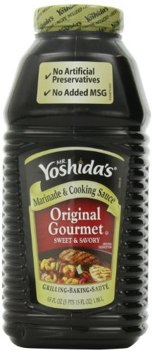 Mr. Yoshida'S Original Gourmet Sweet And Savory Marinade And Cooking Sauce For Grilling, Baking, And Saute 63 Fluid Ounces