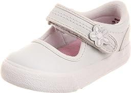 Keds Ella Mary Jane Sneaker (Toddler/Little Kid),White,4.5 W US Toddler