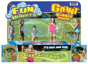 Ja-Ru Giant Bubble Maker Kit