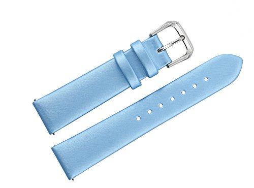 16mm-baby-blue-spun-silk-watch-bands-deluxe-strap-replacements-semi-matt-finish-flat-design