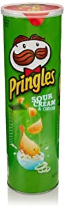Pringles Sour Cream and Onion, 5.96 Oz