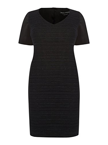 marina-rinaldi-womens-dono-textured-v-neck-dress-14w-23-black
