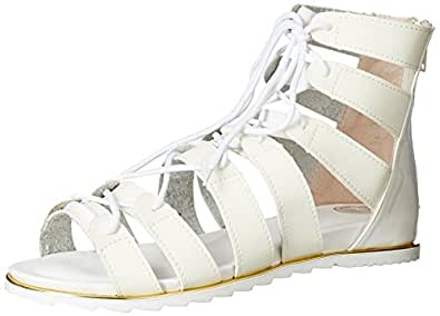 Red Pout Women's Fashion Sandals at amazon