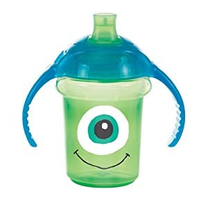 Munchkin Click Lock - Taza de entrenamiento con diseño de Monsters, 7 oz/207 ml, surtido: colores aleatorios - BebeHogar.com