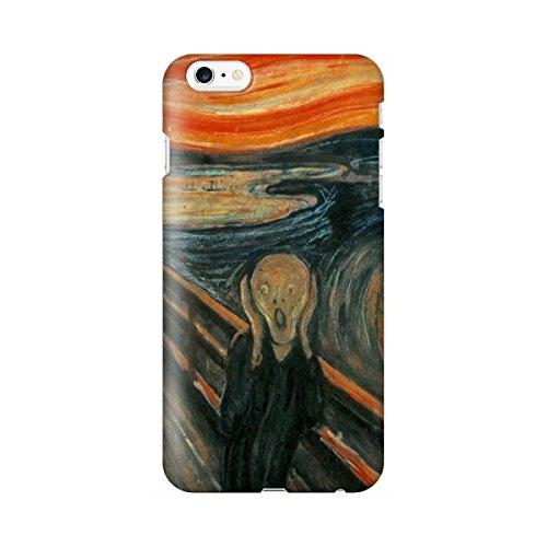 スマホケース スマートフォンケース iPhone6 6s 【側面印刷ハードケース】【アイフォン6 6s】【ムンク 叫び】【名画mg22】つや消し