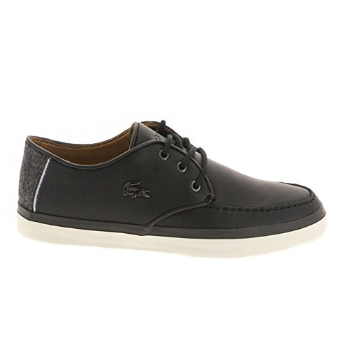 Lacoste Men's Sevrin LCR Fashion Sneaker, Black, 9 M US