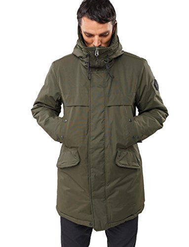 Winter Jackets – Urban Style Mens Parka – Hooded Outerwear ...