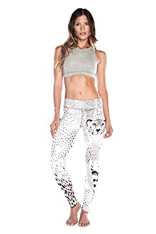 WITH Women's Leggings Tribal Cheetah