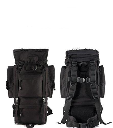 ZLZLND - New-New-New Z Adventurer Internal Frame Backpack (65L, Black, Khaki, CP, French Camouflage, OD Green) -087