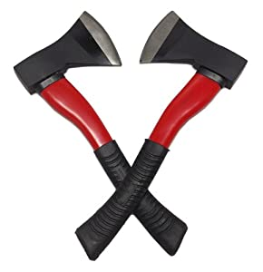 LOT 2: SPORTY CAMPING AXE / HATCHETS CHOP WOOD CAMP NEW