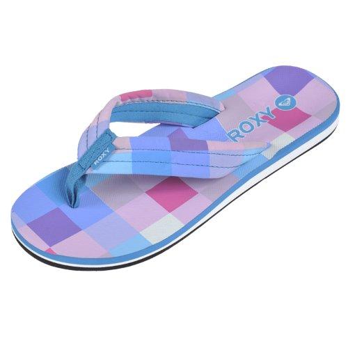 Roxy Tallia Women's Flip Flops in Neon Blue