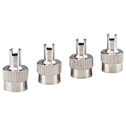Bell Automotive Products Inc 22-5-08836-M Monkey Grip Metal Slotted Slot Valve Cap With Valve Core Remover