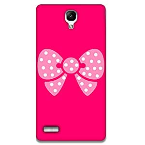 Mott2 Pink Bow Back cover For Xiaomi MI4 (Limited Time Offers,Please Check the Details Below)