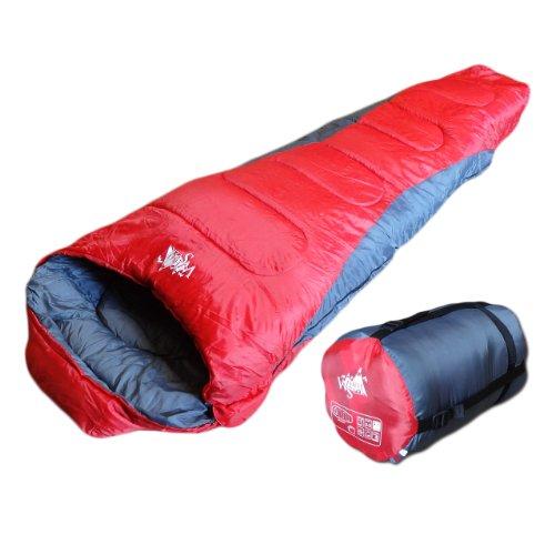 WhiteSeek 寝袋 マミー型 1450g