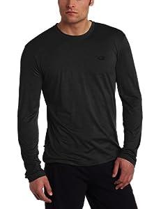 Icebreaker Men's Tech T Lite Long Sleeve Shirt, Jet, Small