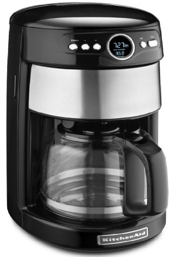 Kitchenaid Kcm1402ob 14-cup Carafe Coffee Maker Digital Black Stainless Steel Gift for Your Family