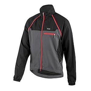 Louis Garneau Electra 2 Jacket Black/Gray/Red, XS - Men's