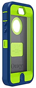 OtterBox 77-34152 'Defender Series' Protective Case for Apple iPhone 5/5s/SE - Zoom(Blue/Green)