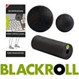 BLACKROLL ZUBEHÖR-SET 3-teilig inkl. Blackroll mini + Ball 8 cm + Ball 12 cm