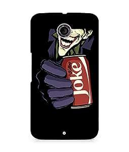 Amez designer printed 3d premium high quality back case cover for Motorola Nexus 6 (The killing Joke)