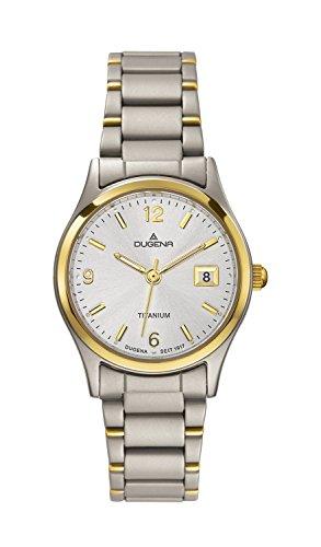 Dugena CLASSIC 4460333 - Reloj de mujer de cuarzo, correa de titanio color varios colores