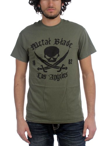 Metal Blade Records - Top - Uomo Verde militare Large